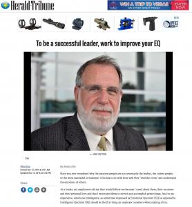 Dr. Thomas on Herald Tribune